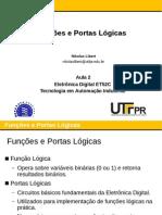 Aula 02 - Funcoes e Portas Logicas