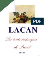 Lacan Séminaire 1 Ecrits Techniques