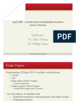 21. Exam 2 Review 1pp Embedded system