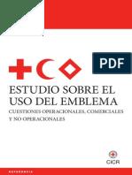 Estudio del emblema Cruz roja