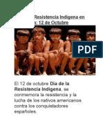 Día de La Resistencia Indígena en Venezuela
