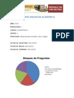 Reporte - Encuesta Académica