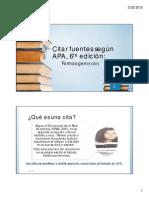 Citar Fuentes APA 6ta