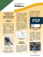 Horizon Testing Inc. - C1 Spider Tank Crawler and Analyst D2S Dryer Scanning System