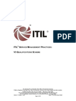 ITIL V3 Qualification Scheme PDF