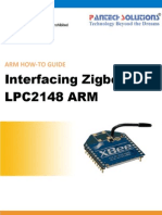 Interfacing Zigbee With LPC2148 ARM