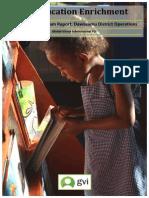 GVI Fiji 2014 Education Enrichment Programme Annual Report