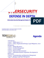 Cyber security - Defense in depth