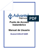 AWN-AP-54MR (Spanish User Manual)