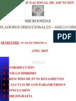 Acopladores Direccionales - Anillo Hibrido