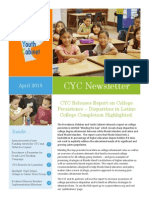 CYC Newsletter - April 2015 (1)