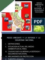 1.4 Seguridad y Defensa Nacional - Medio Ambiente