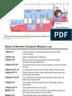 Book of Mormon Timeline Bookmark