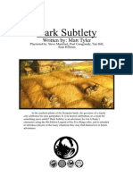 L5R 4th Ed - Adventure - Dark Subtlety (Fanmade) (Aug 2011)