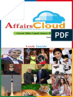 Current Affairs January PDF Capsule 2015 by AffairsCloud