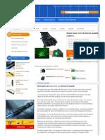 Gants laser vert de bonne qualité ( paire )