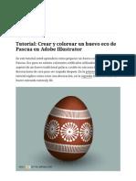 Tutorial Crear Un Huevo de Pascua en Illustrator