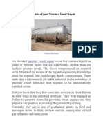 Attributes Of Good Pressure Vessel Repair