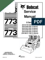 Bobcat 773 Service Repair Manual Elevator Mechanical Engineering