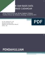 2013-08-23 Metoda Estimasi Cadangan
