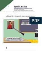 Cómo Componer Música
