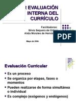 Taller Evaluación Interna Del Currículo