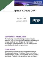 BPV Impact on Zroute QoR (1)