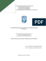 Software Para Análisis de Pvt de Petróleo Negro