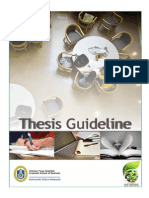Thesis Guideline Uum
