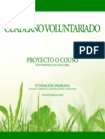 Cuaderno Voluntariado