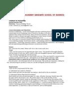 Seminars in Marketing-main Contents