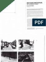 """CHAPOULIE Jean-Marc. """"Des films sans auteur. De la surveillance à la fiction"""" in Art Press 2, n°21, 2011."""
