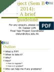 FYP Briefing Guideline