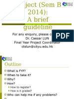 FYP Briefing Guideline