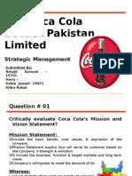 Case Study Coca Cola