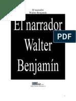 Walter Benjamin El Narrador