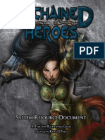 Unchained Heroes System Resource Document
