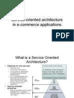 SOA in E-Commerce Applications