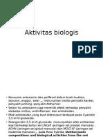 Aktivitas biologis antosianin