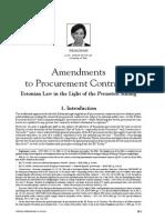 Amendment to Pp Contracts-estonia