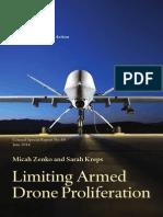 Limiting Armed Drone Proliferation CSR69