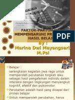 (6) Faktor-faktor Yang Mempengaruhi Proses Dan Hasil Belajar (1)