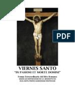 Viernes Santo. In Pasioni et Morte Domini.