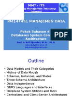 Pokok Bahasan #2 Review DB Architecture