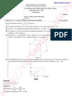 Rezolvare Subiecte Simulare Capacitate Matematica Februarie 2015