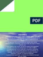 Presentación LA HIDROSFERA