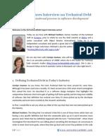 [Transcript] Michael Feathers Technical Debt Interview