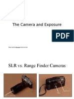 The Camera and Exposure