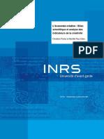 Bilan scientifique et analyse des indicateurs de la créativité 2010.pdf