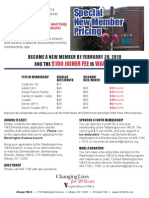 Washington Ave YMCA - New Member Flyer